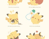 MINI Pikachu's Guide to Getting Healthy