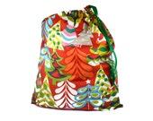 Santa Sacks, Christmas Gift Bags, Holiday Gift Bag, Santa Bag