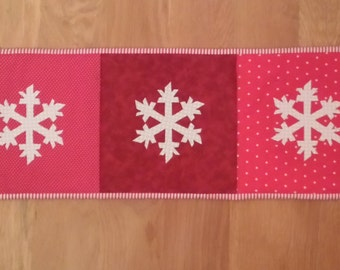 Handcrafted Quilted Table Runner and/or Wall Hanging.