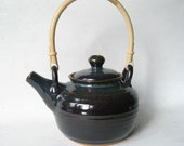 Teapot 6 Cup with Bamboo Handle
