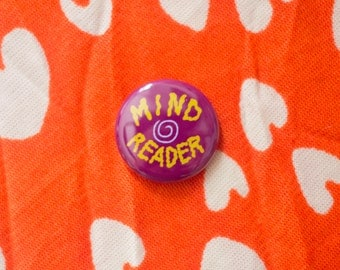 Mind Reader One Inch Button