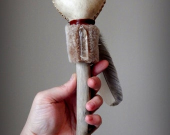 how to make a shamanic rattle
