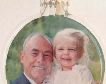 Floating Photo Ornaments - Holiday, Event or in Memory of