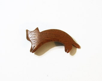 Cat Hair Clip Made Of Lace Wood