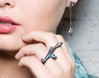 Oak Sapling Stud Earrings
