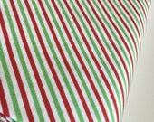 Christmas fabric, Pixie Noel fabric, Holiday fabric, Tasha Noel by Riley Blake, Cotton fabric, Pixie Stripe in Green,  Choose the cut