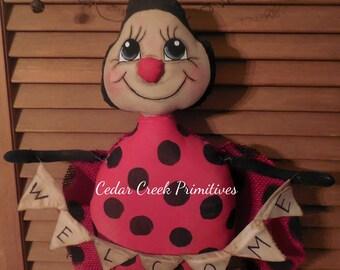 Lucy Ladybug E Pattern