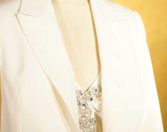 Peak Lapel Tuxedos for Women----Custom Made