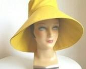 "Custom Order - 2 Canvas Sun Hats with 6 1/2"" Brim"