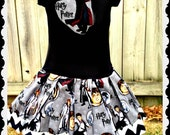 Girls Harry Potter Dress 24 months 2T 3T 4T 5T 4/5 6/6X 7/8 10/12 and 14/16