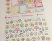 How's the weather? Planner Stickers~