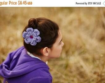 20% OFF Purple Hair Clip Grape Hair Clip Crochet Flower Hair Clip Crochet Hair Clip Flower Barrette Purple Barrette Purple Flower Spring Hai