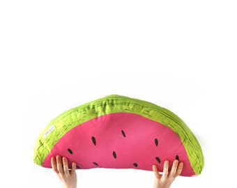 Giant Watermelon Slice cushion