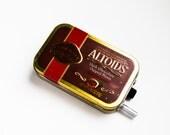 Portable Mint Tin Guitar Amp, Headphone Amp, MP3 Amp w/ Speaker, Volume Control, & 10X Gain (Dark Chocolate Cinnamon Altoids)