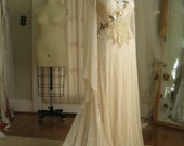 Queen of Avalon Lace Wedding Gown