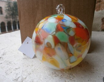 Murano glass Christmas ornament
