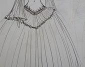 Custom listing Gown