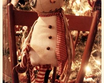 Primitive Make Do Snowman