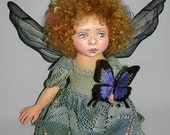 Moxie cloth-dollmaking kit
