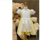 Goldilocks Dress Costume Baby Toddler or Child  any Size