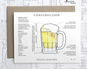 Project Beer Mug - Architecture Construction Card