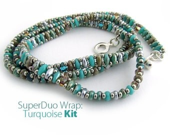 Super Duo Wrap Kit: Turquoise