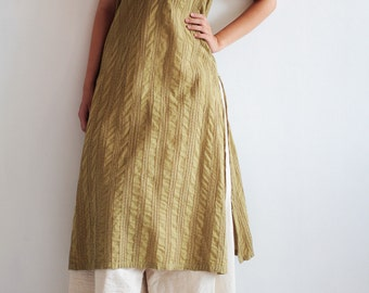 Artistic collection... kurta olive green  dress Round basic neck tunic dress full hand embroidery.