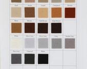 Wool Felt, CHOOSE EIGHT sheets, 6x8 Inches, Merino Wool, DIY Supply, Waldorf Supply, Applique, Holland Felt, Primitive Applique, Woodland