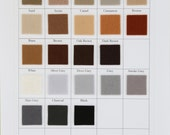 Wool Felt -  CHOOSE THREE - 8 x 12 Inch - Brown, Grey,  Black, White Felt for Crafting and Sewing