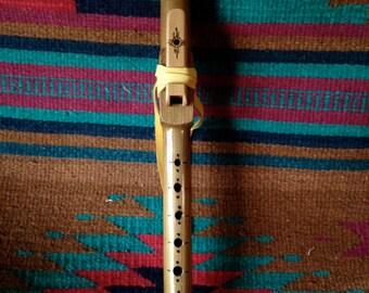 Native American Style Flute in B-Flat, Western Red Cedar