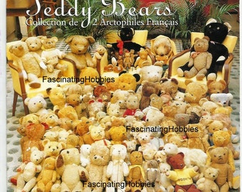 1996 - TEDDY BEARS collection from 1920- Auction in Paris France- one special STEIFF given for Charity by Department Stores - leaflet Advert