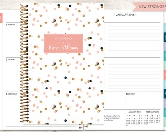 2017 & 2018 planners custom personalized planners par posypaper