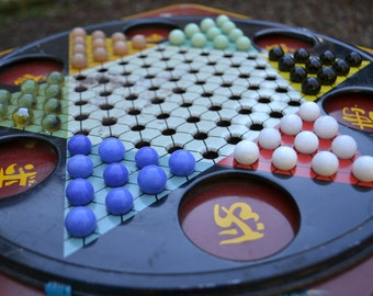 Chinese Checkers Game, Complete