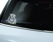 Knitting Sheep Decal Sticker
