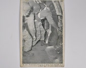 WWII Paratroopers In Plane Camp Mackall Post Card
