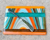 Southwestern Striped Cheese Plate