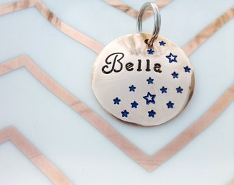Seeing Stars Belle Custom Pet ID Tag