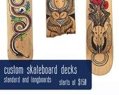 Custom Skateboard Deck Designs