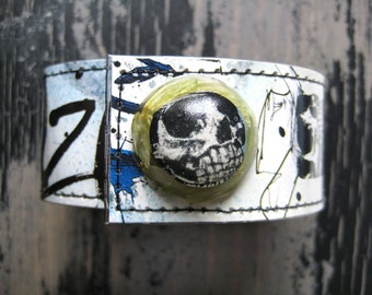Flying Dog Gonzo Wrist Cuff with Hops Snap