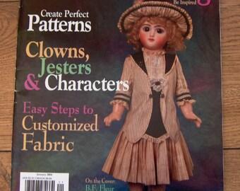 2004 Doll Costuming magazine patterns