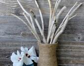 Natural Driftwood Vase Filler , 14 Driftwood Branches for Home Decor NDV14