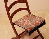 Reserved listing for Barbara Brugler - Civil War Folding Chair - Arched Slats