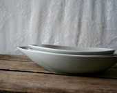 Vintage Eva Zeisel Town and Country Comma Serving Bowl 10 inches Red Wing