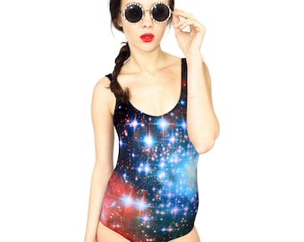 Crimson Galaxy Swimsuit
