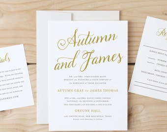 Printable Invitation Template        Print Instantly