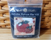 Mill Hill Cross Stitch Kit - Apple Harvest - Autumn Harvest Pin VIII- Free U.S. Shipping