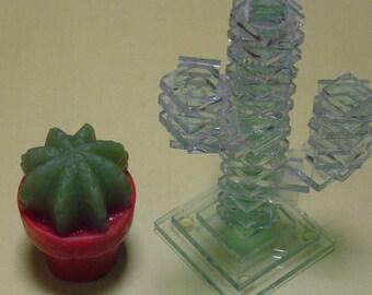 3-D southwest soap, cactus soap, Desert Theme Decor, DIY cactus trend Party Favors, Plant, sonoran desert, cactus trend, southwest decor