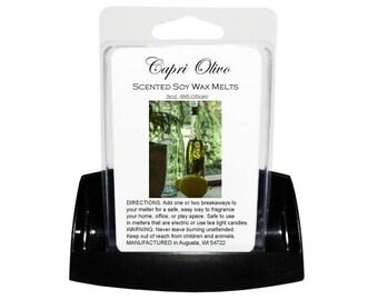 CAPRI OLIVO Soy Melts // Wax Tarts // Soy Tarts // Candle Tarts // Melting Tarts // Scented Tarts // Dye Free