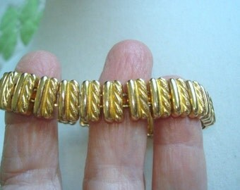 Expansion Bracelet Jewelry Gold Tone Bracelet