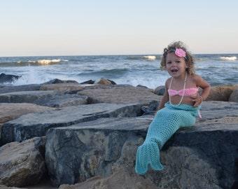 Mermaid Outfit Toddler - Mermaid Outfit For Girls - Mermaid Outfit Baby - Mermaid Blanket Kids - Mermaid Blanket Child's - Crochet Mermaid